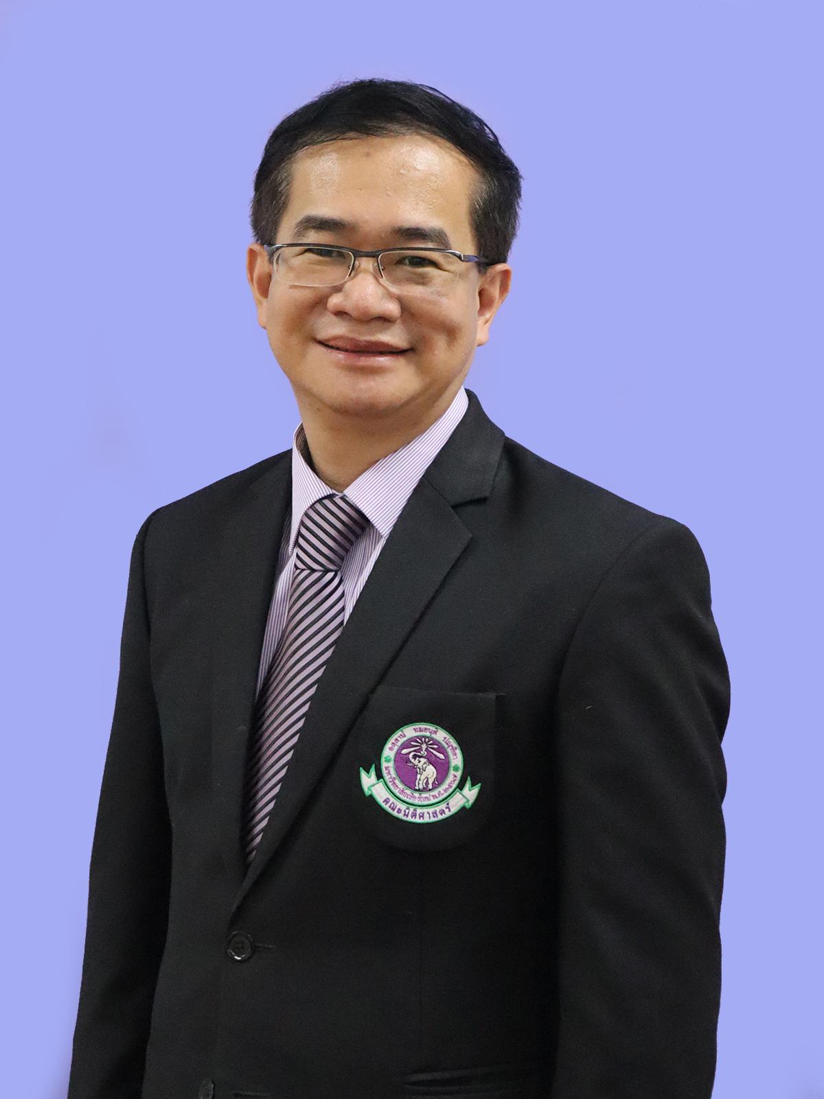 Assistant Professor Sakchai Jinawong Associate Dean