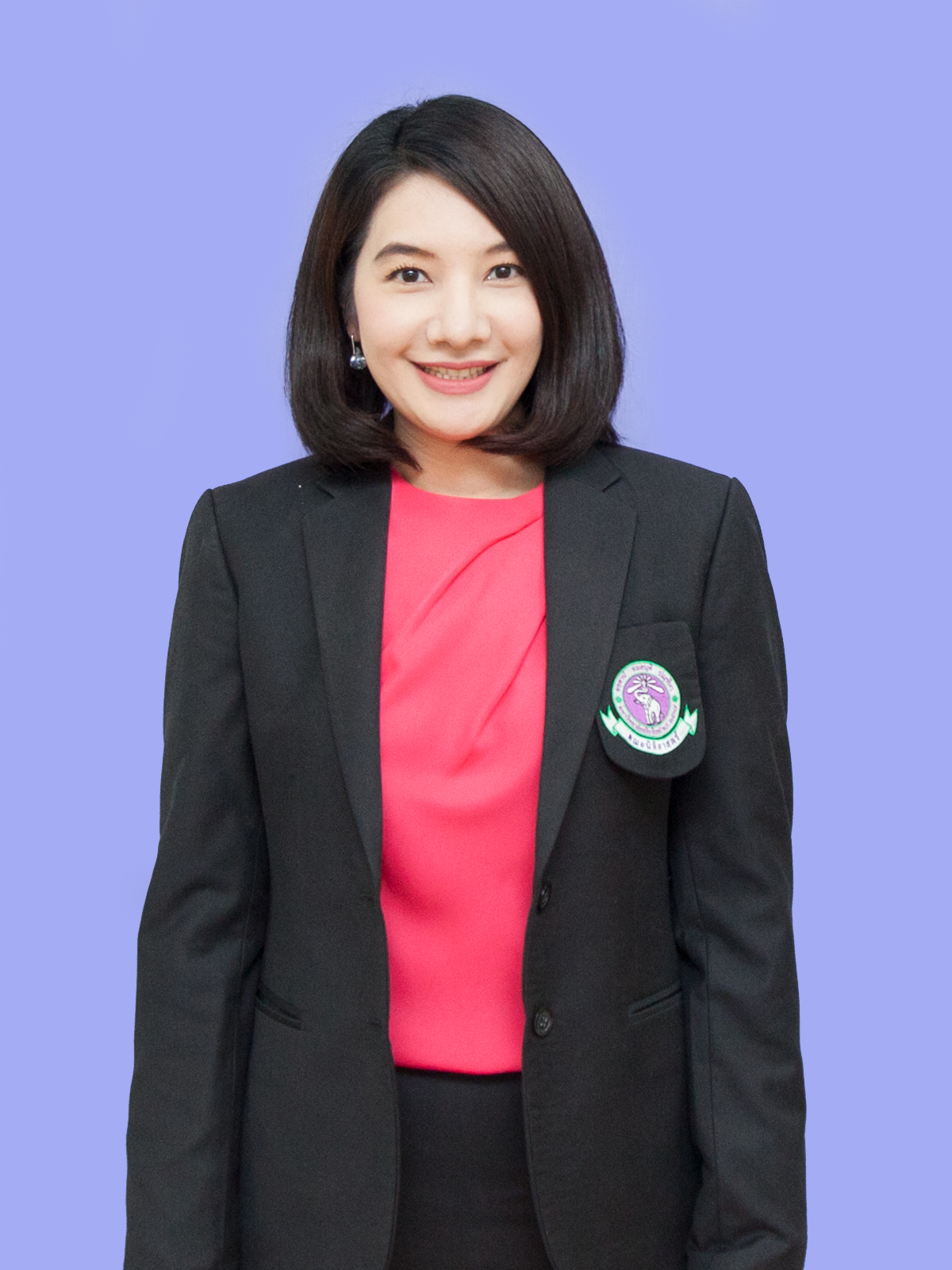 Assistant Professor  Sutasinee  Supa Header of Legal Academic Service Center