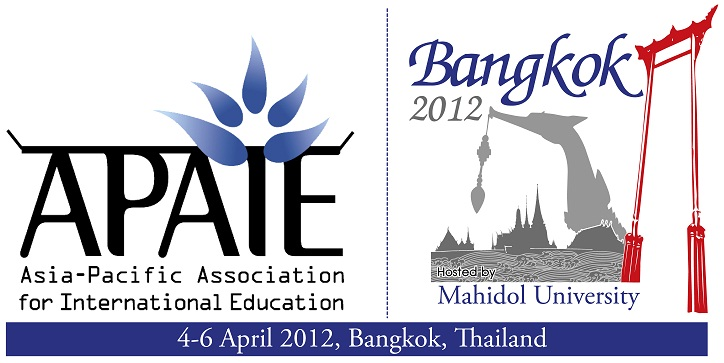 The Asia Pacific Association for International Education (APAIE) Conference and Exhibition 2012
