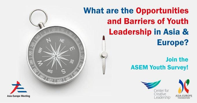 ขอความอนุเคราะห์ตอบแบบสอบถาม ASEF - Ied Youth Survey for ASEM Youth Report on Leadership